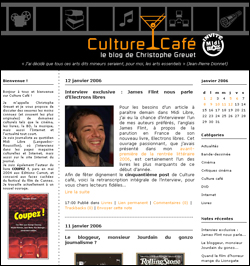 27 octobre 2005 : Culture Café version 1.0