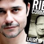 Rien ne se passe comme prévu, Hollande personnage littéraire pour Laurent Binet